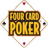 4 card poker logo