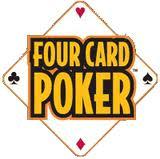 4 card poker logo