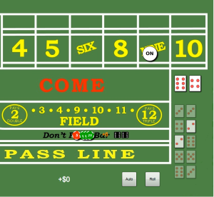 Good strategies for craps